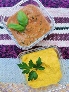 2 x dippikastike - Hapankaalimajoneesi dippi (vegaaninen) ja Tomaattisalsa dippi (Riia Koivisto) Guacamole, Cantaloupe, Salsa, Dips, Cheese, Fruit, Food, Sauces, Essen