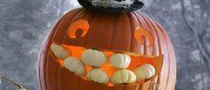Love the teeth! #halloween #pumpkin #Ideas