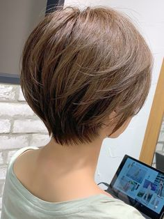 Short Bob Hairstyles, Pixie Haircut, Short Hair Styles, Hair Cuts, Hair Color, Hair Beauty, Stylists, My Style, Women