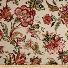 P/Kaufmann Garden Flora Basketweave Geranium Textile Pattern Design, Textile Patterns, Fabric Design, Print Patterns, Textiles, Floral Patterns, William Morris Patterns, Paisley Art, Fabric Wallpaper