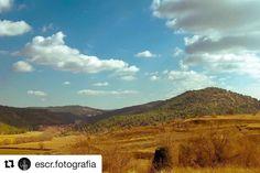 Así da gusto empezar el día preciosas vistas desde Valdecolmenas de Abajo!  @escr.fotografia