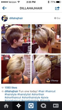 Hair inspiration by @dillahaj I just love his work!