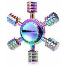 Rainbow Anchor Fidget Spinner EDC ADHD Focus Toy