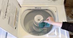 She Pours Mouthwash Into Her Washing Machine — Now Watch What Happens… via LittleThings.com