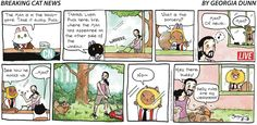 Breaking Cat News by Georgia Dunn for Aug 13, 2017 | Read Comic Strips at GoComics.com