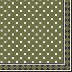 Victorian Floor Tiles - Nottingham with modified Melville border