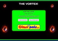 Vortex: Create your own sorting games Interactive Learning, Learning Resources, Atomic Theory, Uncle Toms Cabin, Spanish Numbers, Sorting Games, Rock Cycle, Class Games, States Of Matter