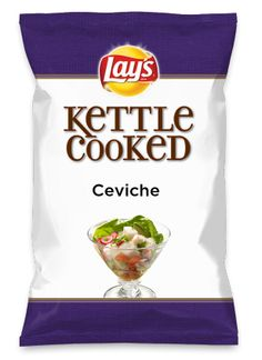 Wouldn't Ceviche be yummy as a chip? Lay's Do Us A Flavor is back, and the search is on for the yummiest flavor idea. Create a flavor, choose a chip and you could win $1 million! https://www.dousaflavor.com See Rules.