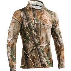 Under Armour Evolution Coldgear Camo Series Hoodie - Barn Red (L) $69.99