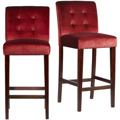Red Leather Stools And Red Bar Stools On Pinterest