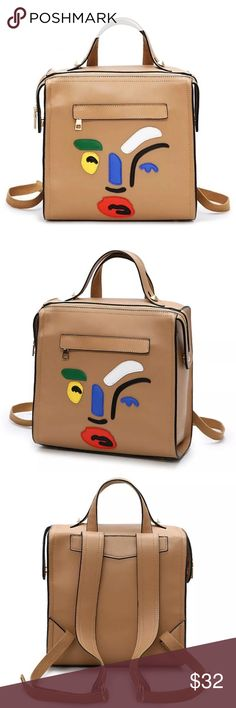 Artsy abstract backpack Very cute and unique has a lot of room. (shipping takes 2-4wks) H&M Bags Backpacks