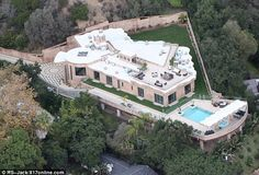 Rihanna's luxury house in California