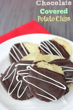 Chocolate Covered Potato Chips - Nifty Thrifty Savings