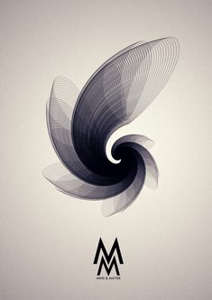 Mind & Matter by Buwaneka Saranga, via Behance.///// I like how this image has movement to it. It has your eyes wondering all over the image.