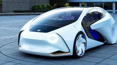 Toyota has unveiled its new Concept-i vehicle that can not only drive itself, but also uses AI to build a relationship with the driver.