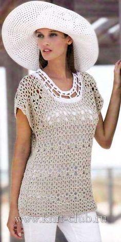 Irish crochet &: TUNIC ........ TUNIC