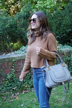 jillgg's good life (for less)   a west michigan style blog: Under $100 Sweaters for Fall with Nordstrom! Mom Outfits, Stylish Outfits, Simple Classic Style, Western Michigan, Black Balloons, Laid Back Style, Cozy Sweaters, Style Blog, High Waist Jeans