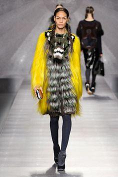 5ff950cf73 Joan Smalls - Fendi - Autumn Winter 2012 Ready-to-Wear - milan - Fashion  Show