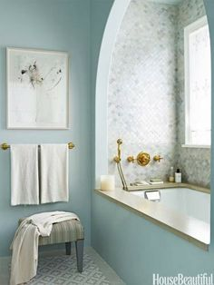 Fixtures and faucets, tile and towels all help define the personality of one of the most-used rooms in the house.