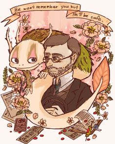 Fran Bow Dr. Deern and Palontras / shared from Piyoaaa on Tumblr