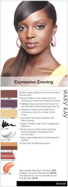 Go to www.marykay.com/dayres-potocki to get this fabulous look