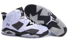 Jordan Shoes   Air Jordan 6 Retro Shoes White Black