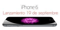 iPhone 6 lanzamiento fue el 19 de septiembre pero el #iPhone6 tendrá más lanzamientos en diferentes países antes del 2015, ¿cuándo será en tu país? http://iphone-6.es/iphone-6-lanzamiento-cuando-tendra-iphone-6-su-lanzamiento/