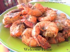 Welcome Home: Old Bay Peel and Eat Steamed Shrimp