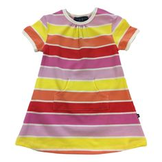 Girls Sun Stripe Dress