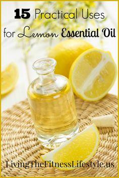 15 Practical Uses For Lemon Essential Oil