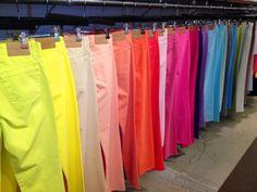 Jeans de colores!!!