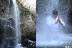"""新日本プロレスリング:後藤洋央紀「""""無の境地""""に入った。そして俺は変わった!」『NJC』開幕直前!荒武者が極寒の山中で""""滝行""""に挑戦!"""