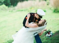 Brittany and Ryan had a blast during this {hot} and sweet wedding redo at the beautiful Bells Mill Park in Chesapeake, VA.