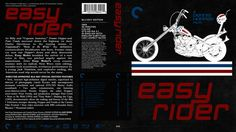 Easy Rider Criterion Collection Blu-ray Custom Cover