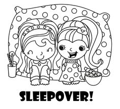 pajama theme coloring pages - photo#18