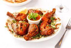 Easy Tandoori Chicken Recipe, Marinated Chicken, Appetizer Salads, Appetizer Recipes, Chicken Recipes At Home, Sauce Tartare, Punjabi Food, Valeur Nutritive, Baking With Kids
