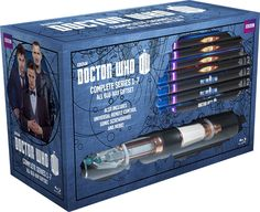 The Doctor Who gift set. Oh my.