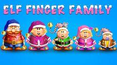 The Finger Family Elf Family Nursery Rhyme | Christmas Finger Family Songs | Merry Christmas!
