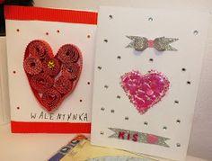 Część 2  Walentynki od jakiegoś czasu kojarzą mi się z zalewem chińskiej tandety. Nie unikniemy tej szalonej walentynkowej mody nawet w... Valentines Day, Crafts For Kids, Playing Cards, Valentine's Day Diy, Crafts For Children, Kids Arts And Crafts, Playing Card Games, Kid Crafts, Game Cards