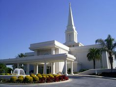 Orlando Temple | Click to enlarge this image of the Orlando Florida Mormon Temple