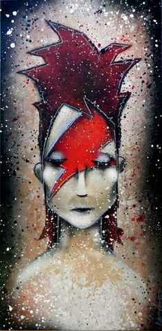 Aladdin Sane David Bowie commission 2013