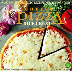 Amy's Kitchen - Rice Crust Cheese Pizza  Delicious and Gluten-Free!!