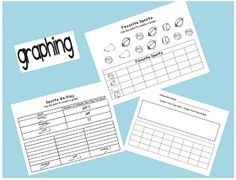 First Grade Best: Graphing Quick Review