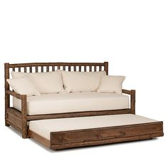 Payson Mission Pop Up Trundle Bed Twin Daybed With