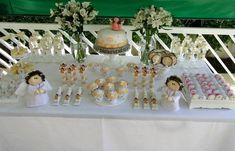 batizado decoração simples feito em casa - Pesquisa Google