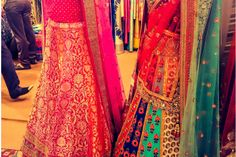 Gorgeousness seen at #weddingasia #delhi #weddinglehenga #Frugal2Fab