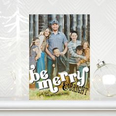 Merry Lovely - Christmas Card Options #tinyprintscheer