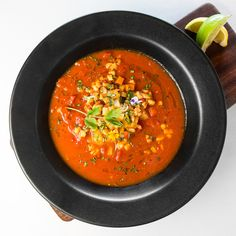 Conch Chowder. Recipe from Chef Norman Van Aken of Norman's Restaurant, Orlando, FL. Photo by Francine & Lionel Photography.
