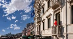 Located on the Riva degli Schiavoni, Hotel Londra Palace is just a walk from St. Huge Windows, Luxury Hotels, Be Perfect, Venetian, Palace, Things To Come, Street View, Names, Rooms
