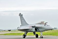 French Air Force Dassault Rafale. Dassault wants Canada to choose the Rafale instead of the F-35.